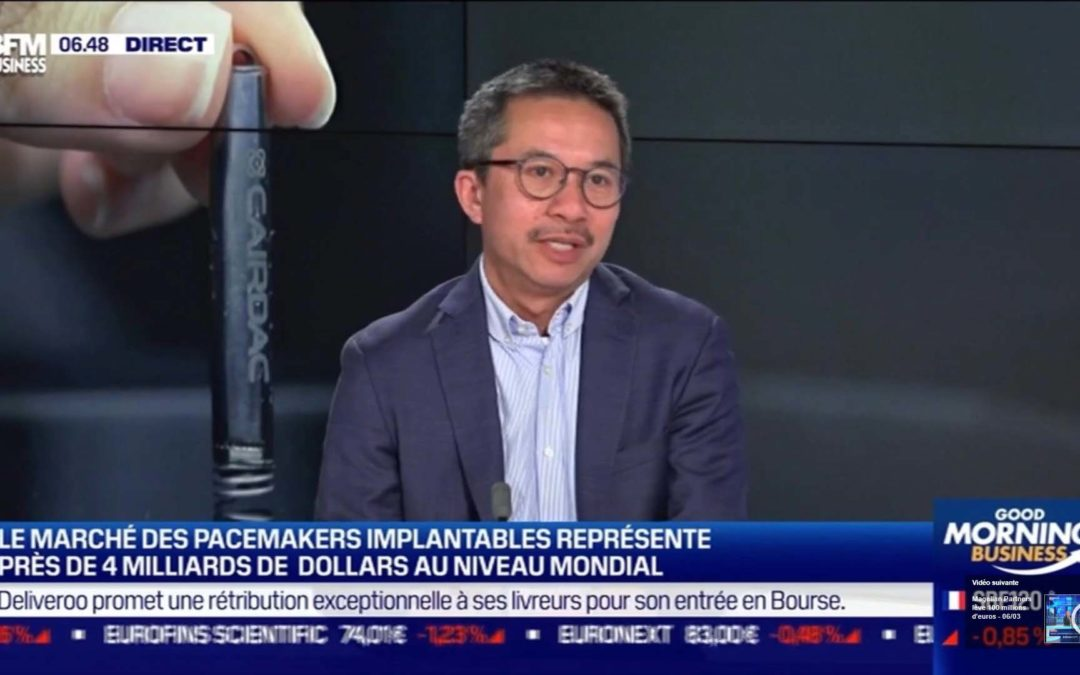 How Cairdac is revolutionizing the pacemaker world on a global scale – watch An Nguyen-Dinh's interview on BFM Business